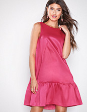 Closet Pink A-Line Gathered Hem Dress