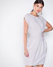 Closet Grey Marked Waist Mini Dress