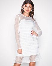 River Island Ivory Genevieve Lace Dress