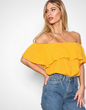 NLY Trend Citrus Summer Frill Top