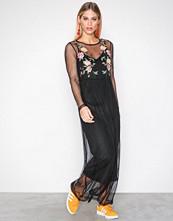 Vero Moda Svart Vmlayden L/S Ankle Dress D2-3