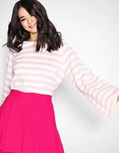 Only Hvit onlYUCCA L/S Pullover Knt