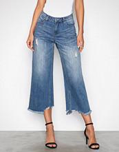 Vero Moda Lys blå Vmlala Hw Boxy Ankle Jeans GU537