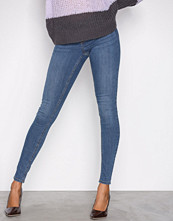 Gina Tricot Dark Blue Denim Alex Low Waist jeans