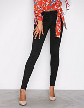 Gina Tricot Black Alex Low Waist jeans