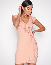 NLY One Blush Frill Down Dress