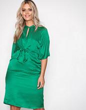 Vero Moda Grønn Vmgigi 2/4 Tie Dress SB4