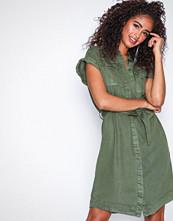 Vero Moda Grønn Vmmisty Utility Shirt Dress Ga