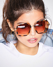 NLY Accessories Brown 70s Sunglasses