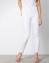 River Island White Harper High Rise Jeans