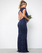 Honor Gold Faye Cap Sleeve Maxi Dress