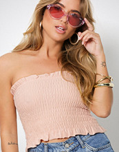 NLY Trend Lys rosa Smock Tube Top