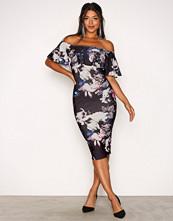 NLY One Lilla/Mønstrete Frill Print Dress