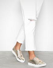 NLY Shoes Gull Metallic Platform Sneaker