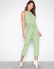 Glamorous Green Short Sleeve Jumpsuit