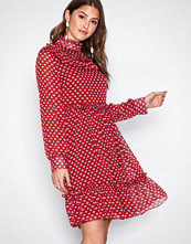 Sisters Point Red Nubuk Dress
