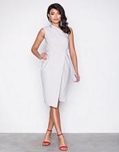 Closet One Shoulder Midi Dress