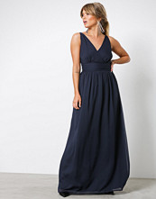 Vero Moda Mørk blå Vmjosephine Sl Maxi Dress