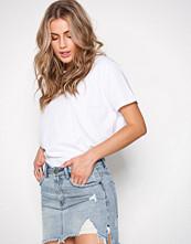 One Teaspoon Mini H/W Denim Skirt