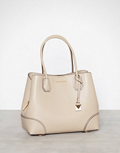 Michael Kors Beige Mercer Gallery Md Center Zip Tote