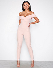NLY One Rosa Folded Off Shoulder Jumpsuit