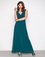 Sisters Point Dark Green Gally Dress