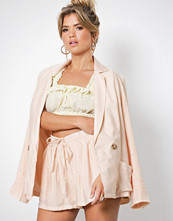 NLY Trend Beige The Suit Shorts