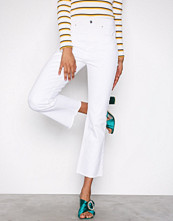 Gina Tricot Offwhite Nicole Kickflare Jeans