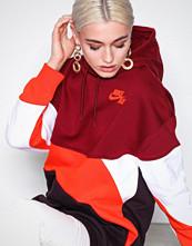 Nike Rød NSW Hoodie QS