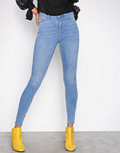 Gina Tricot Mid Blue Molly High Waist Jeans