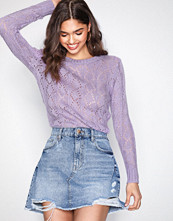 Sisters Point Lilac Pretty Knitted Sweater