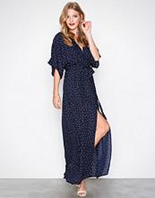 Glamorous Navy Short Sleeve Maxi Dress