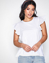 Polo Ralph Lauren White Eyelet Top