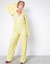NLY Trend Gul Pleated Kimono Jumpsuit