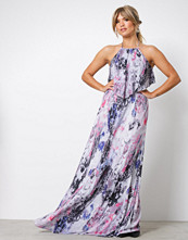 NLY Eve Mønstret Layered Flowy Gown