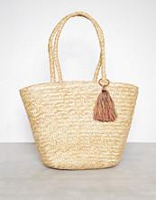 Only Natural onlNIF Straw Beach Bag