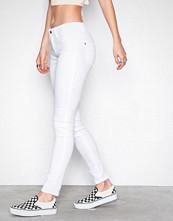 Only Hvit onlULTIMATE King Reg Jeans CRY1703