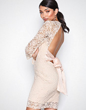 Glamorous Beige Natural Long sleeve Dress