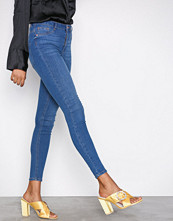 Gina Tricot Dark Blue Denim Molly High Waist Jeans