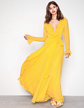 NLY Eve Flame Deep Plunge Neckline Gown