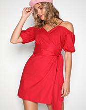 Glamorous Red Cold Shoulder Dress