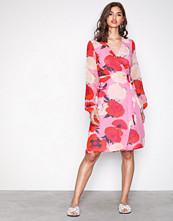 Gestuz Pink Rose Violetta wrap dress