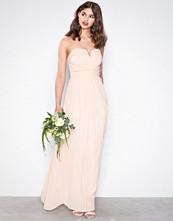 TFNC Light Beige Flovia Maxi Dress