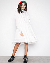 Glamorous White Long Sleeve Dress