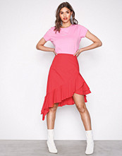 NLY Trend Lollipop High Low Frill Skirt