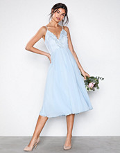 U Collection Perfect Short Dress Light Blue