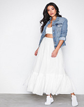 Polo Ralph Lauren White Maxi Skirt