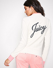 Juicy Couture Natural Juicy Shimmer Script Velour Fairfax Jckt