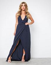 NLY Eve Prikker V-Neck Frill Gown