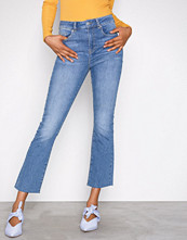Gina Tricot Mid Blue Nicole Kickflare Jeans